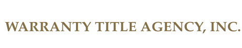 Warranty Title Agency, Inc.